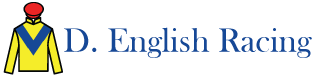 D.English Racing – Damian English Racehorse Trainer Logo